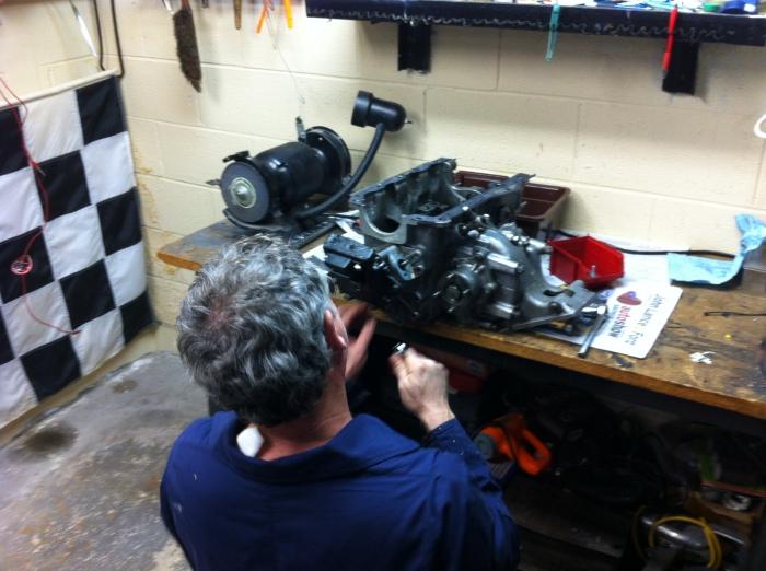 gearbox strip