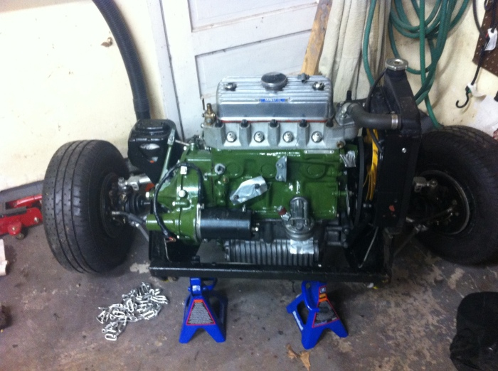 motor/trans on subframe