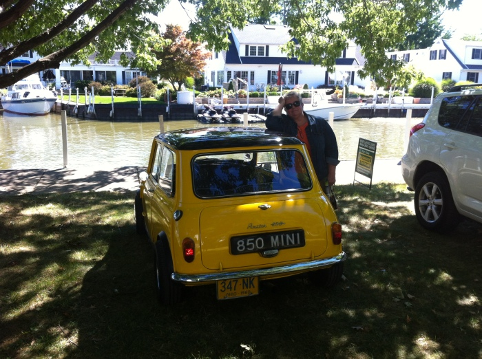 mini on a lagoon