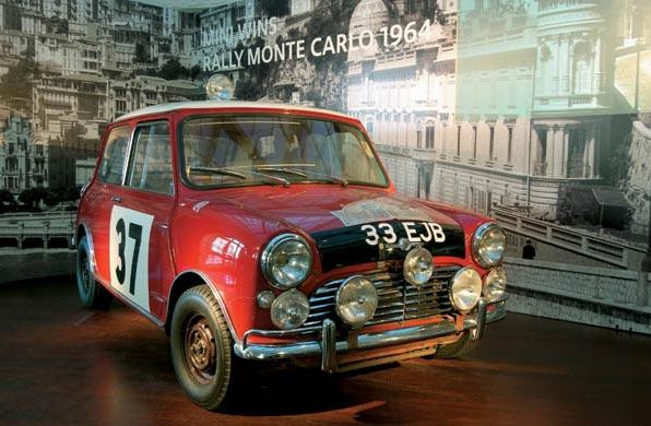 Winning Mini 1964 Monte