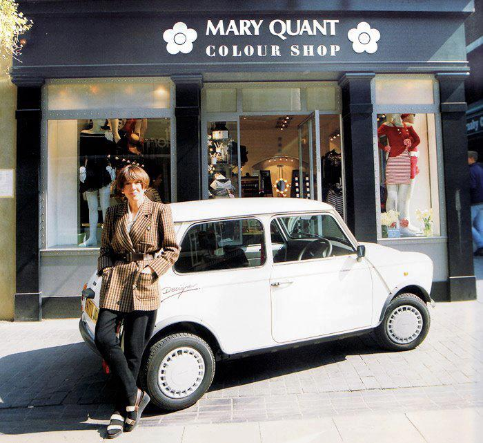 Mary Quant - of mini skirt fame, named her style after the car...