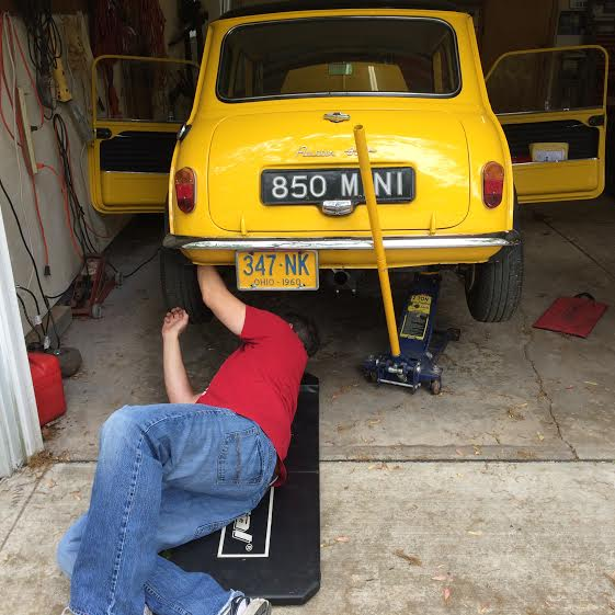 adjusting the rears