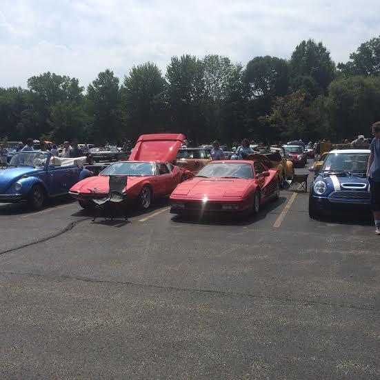 Ferrari and Pantera