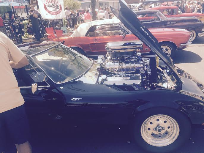 opel gt with 540 CID motor