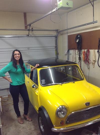 Melissa Atkins with Mini